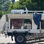 Устанавливаем бывшие в употреблении стационарные бетононасосы MECBO, PUTZMEISTER, CIFA и др. на автомобильное шасси. фото