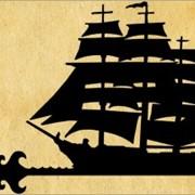 Флюгеры в виде кораблей фото