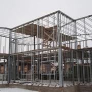 Изготовление каркаса административных зданий фото