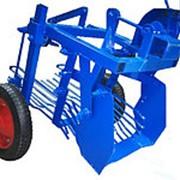 Картофелесажалка вибрационная на пневматических колёсах фото