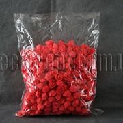 Головы коралловых роз d 3-3,5см из латекса 500 шт. 3290 фото