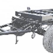 Шасси для тракторного прицепа 2ПТС-5 фото