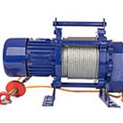 Лебедка TOR CD-300-A (KCD-300 kg, 380 В) с канатом 70 м фото