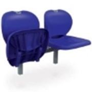 Кресло стадионное складное синие фото