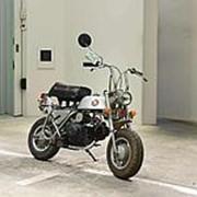 Мопед мокик Honda Monkey рама Z50A гв 1971 раритет тюнинг пробег 7 т.км серебристый фото