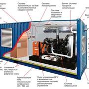 Контейнер типа Север для ДГУ стандартной комплектации размер 3000х2360х2215 mm фото