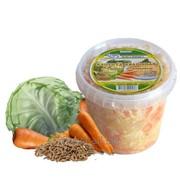 Капуста квашеная с тмином и морковью фото
