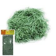 Декоративный бумажный наполнитель зеленый 30г фото