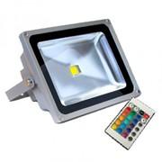 Прожектор светодиодный 10 Вт RGB фото