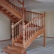 Лестница дизайн D004 фото