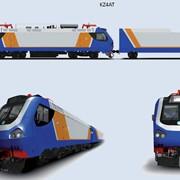 Электровозы магистральные Серии KZ8A и KZ4AT фото