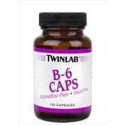 Twinlab B-6 100 Mg 100 caps. Витамин B6. фото