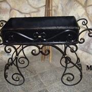 Металіві та ковані мангали, барбекю фото