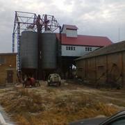 Монтаж бункеров БВ - 40, БВ - 25. фото