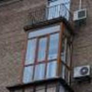 Холодное алюминиевое остекление балкона фото