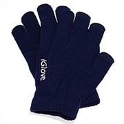 Перчатки iGlove для работы с емкостными экранами (цвет темно синий) фото