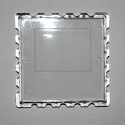 Заготовка акриловая для магнита на холодильник в форме марки квадратная фото