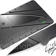 Складной нож трансформер CardSharp 2 нож кредитка 001131 фото