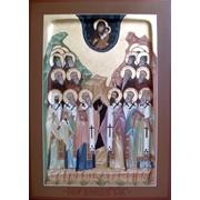 Именная икона Собор Зверинецких святых фото