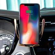 S6 беспроводная быстрая сенсорная зарядка держатель телефона фото