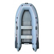 Надувная лодка Parsun 330 серая фото