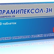 Прамипексол - ЗН, табл. по 1мг № 10х3 фото