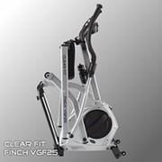 Эллиптический тренажер — Clear Fit Finch VGF 25 Fusion Складной переднеприводный эллипсоид с шагом 410 мм и полным пакетом программ тренировок фото