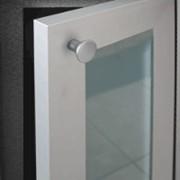 Фасадные дверцы из алюминиевых профилей фото