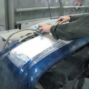 Реставрация авто бамперов фото
