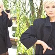 Пальто женское «Разлетайка» чистошерстяное демисезонное фото