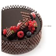Декор шоколадный на торты фото
