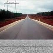 Строительство автодорог фото
