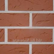 Клинкерный кирпич АВС 0153 Munsterland rot-nuansert фото