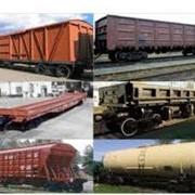 Перевозка грузов железнодорожным транспортом фото