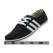 Мокасины Adidas Neo Black/White арт. 23390 фото
