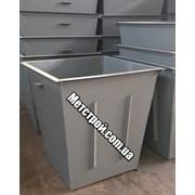 Мусорный бак, контейнер для тбо фото