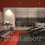 Покрытия для фитнес-залов фото