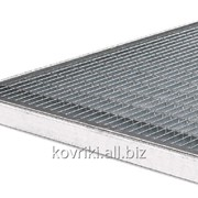 Грязезащитная стальная решетка 500x1000 фото