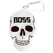 """Брелок для ключей в виде черепа с надписью """"Boss"""" фото"""