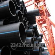 Трубы полиэтиленовые водопроводные напорные фото