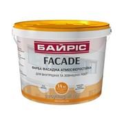 Краска фасадная атмосферостойкая «Facade» Байрис 14 кг. фото
