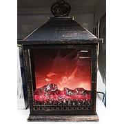 Камин декоративный 20Х30 электрический фото