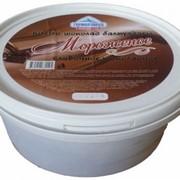 Шоколадное мороженое фото