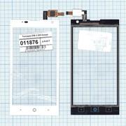 Сенсорное стекло (тачскрин) для ZTE V 830 Blade G белое, Диагональ 4.5, 480x854 фото
