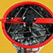 Медогонка 3-х рамочная поворотные нержавеющий бак и кассеты фото