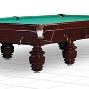 Бильярдный стол/снукер Turnus 12 ф (махагон) фото