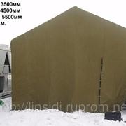 Палатка брезентовая ВО фото