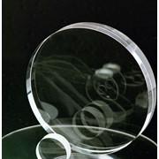 Круглые оптические заготовки и окна из сапфира фото