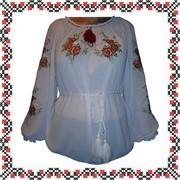 Блуза с вышивкой фото