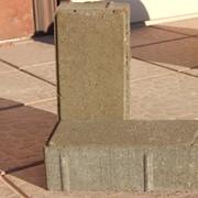 Плитка тротуарная прямоугольная П20.10.8 серая фото